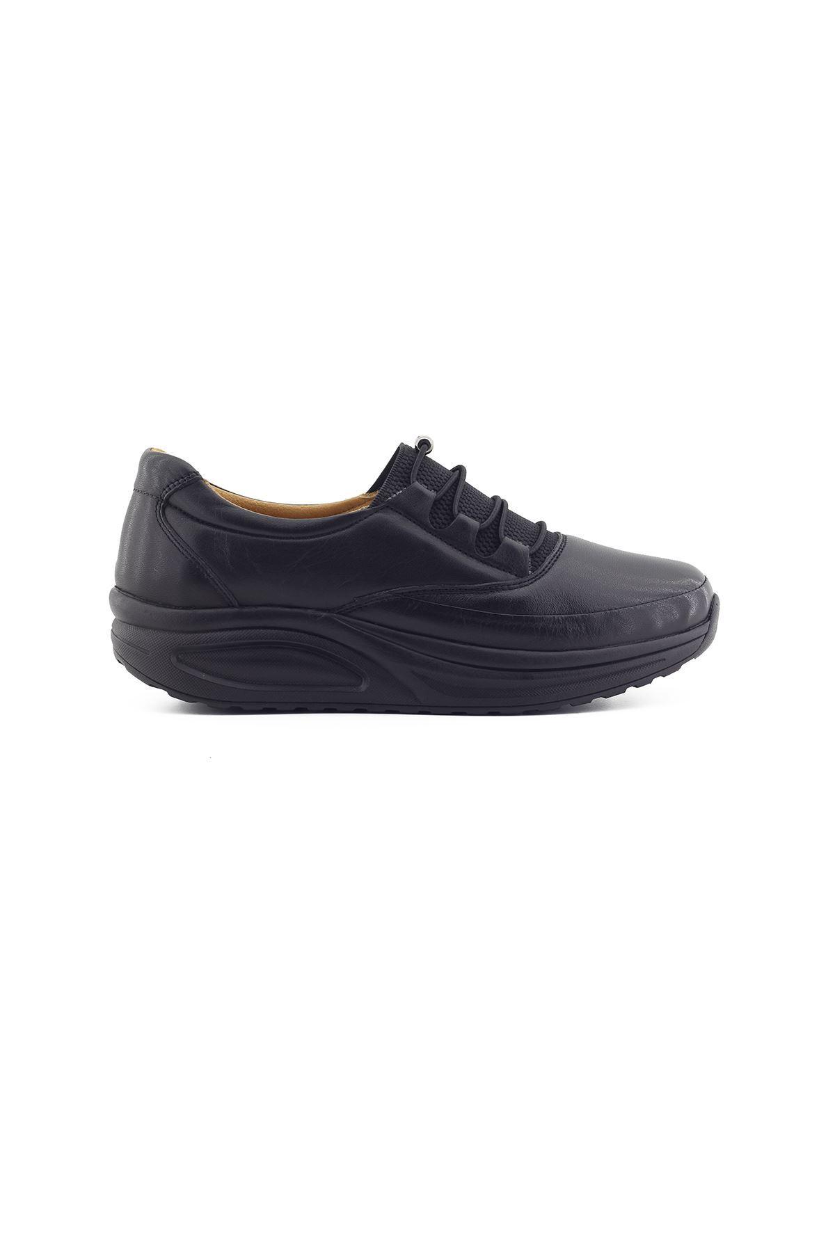 855 Siyah Kadın Yürüyüş Ayakkabısı
