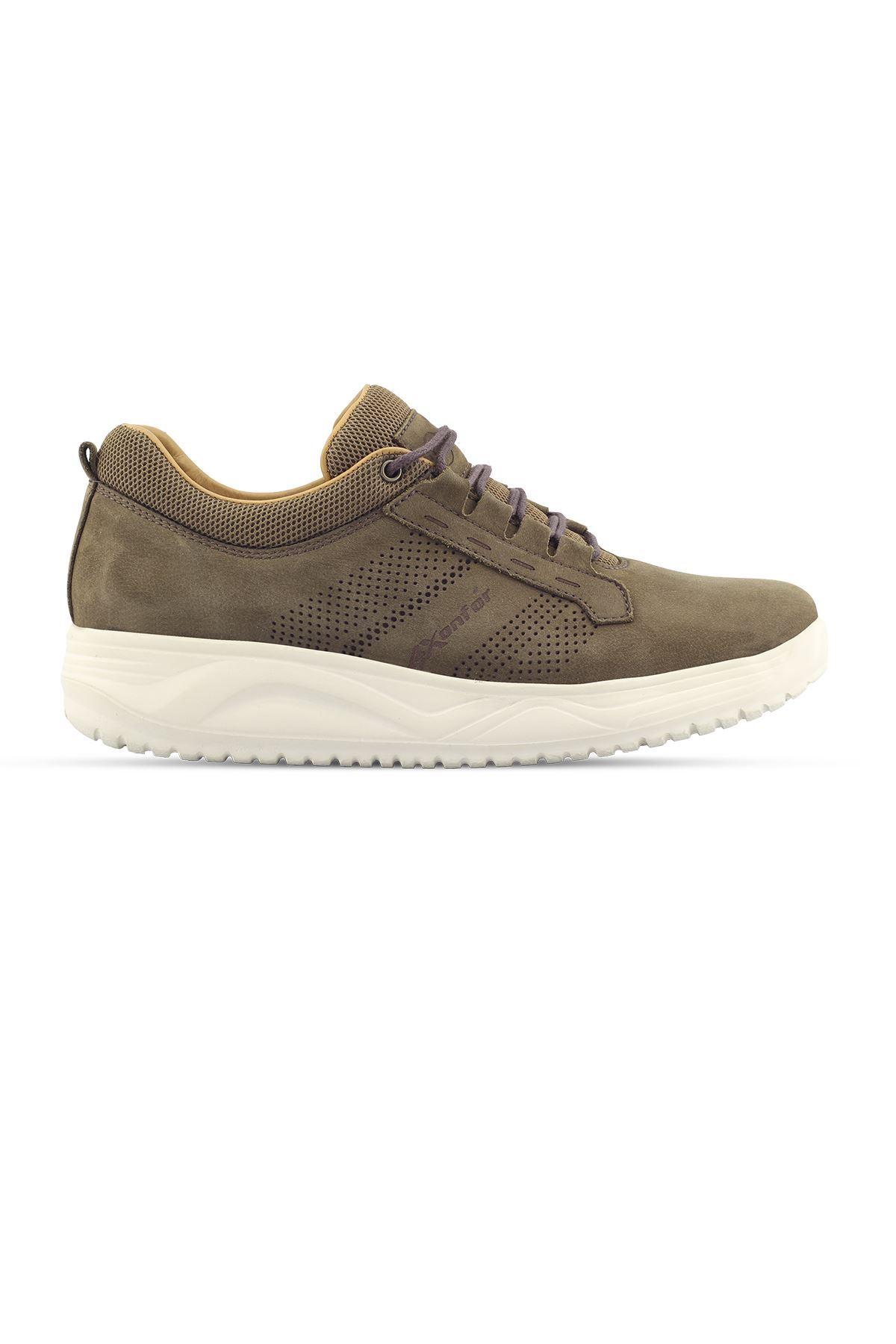 1875 Nubuk Haki Erkek Yürüyüş Ayakkabısı