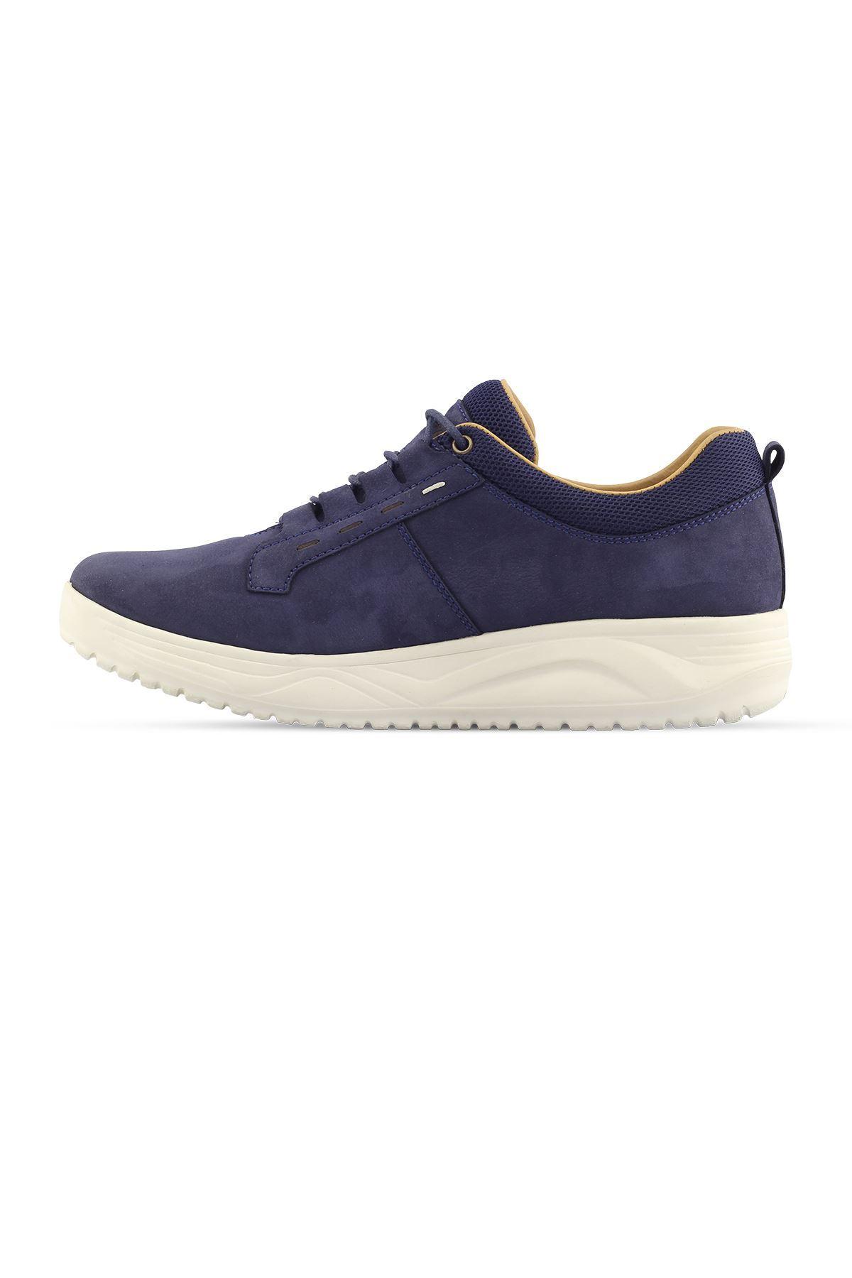1875 Nubuk Lacivert Erkek Yürüyüş Ayakkabısı