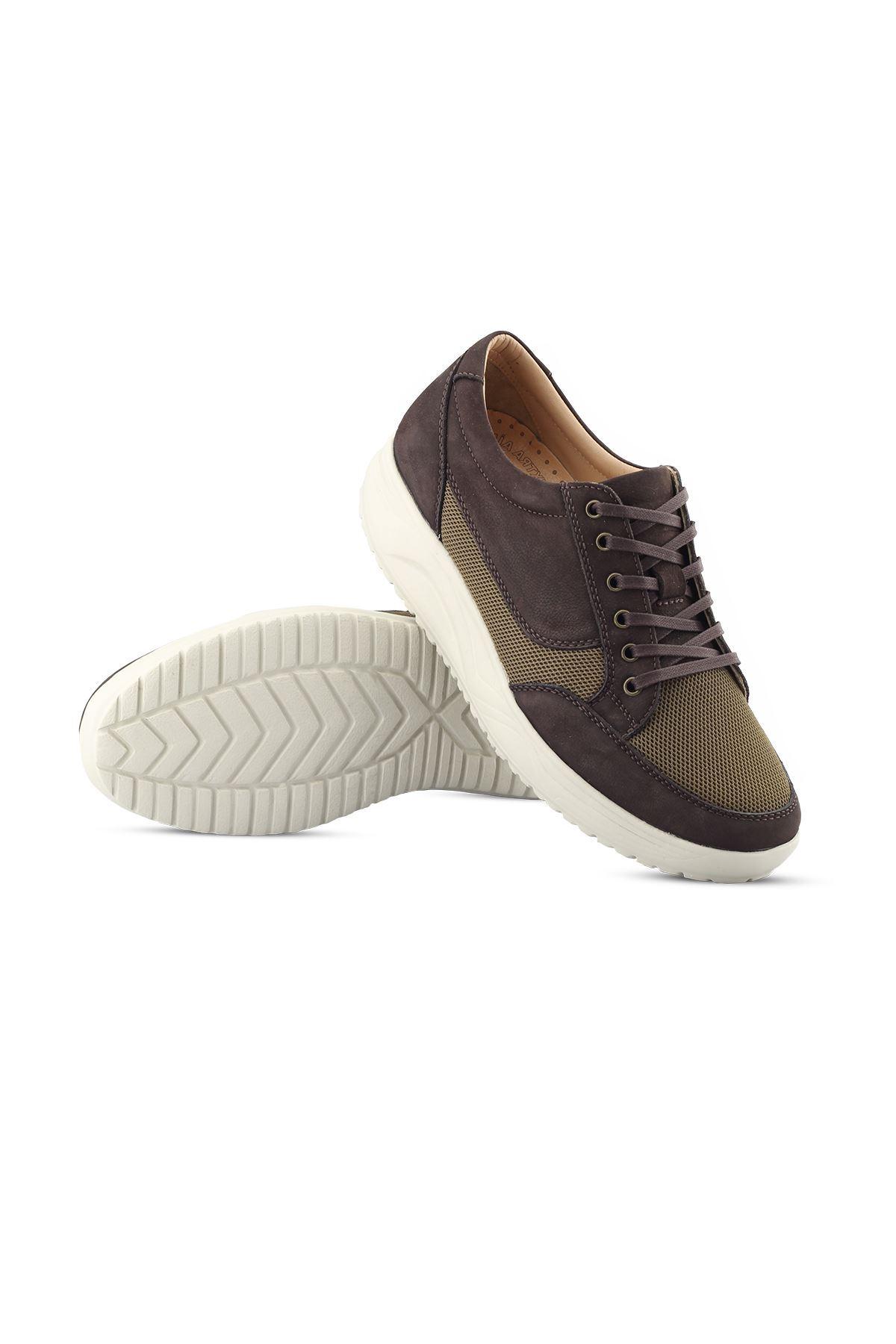 1656 Nubuk Kahve Erkek Yürüyüş Ayakkabısı