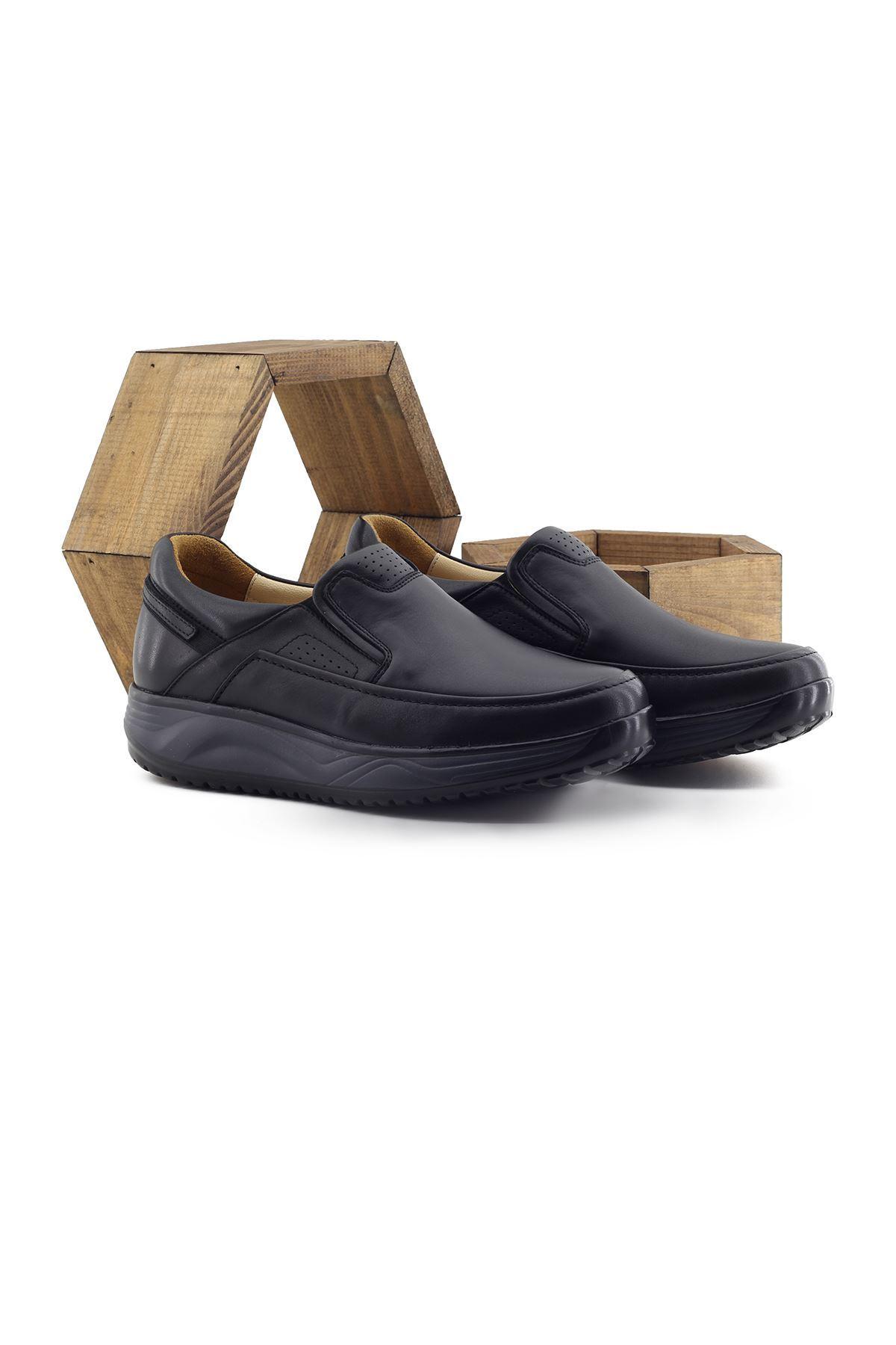 1850 Siyah Erkek Yürüyüş Ayakkabısı