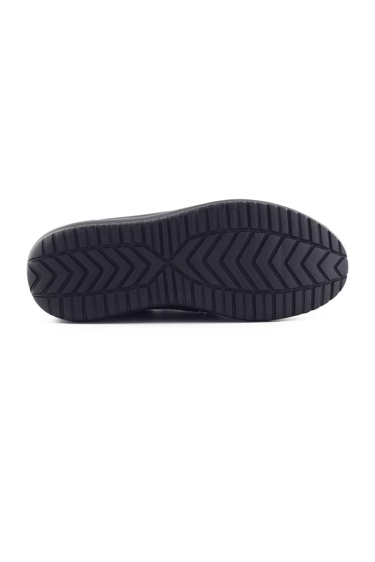 1655 Siyah Erkek Yürüyüş Ayakkabısı