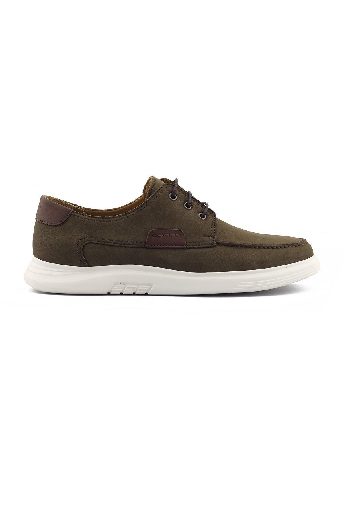 2101 Nubuk Haki Stil Erkek Ayakkabı